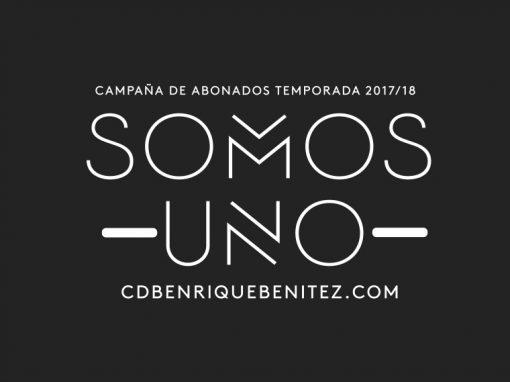 Campaña abonados CDB Enrique Benítez 2017/18
