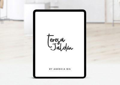 Branding y tienda online Teresa Jaldón