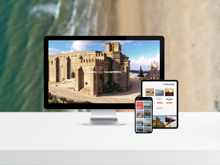 Sitio web Turismo Huelva